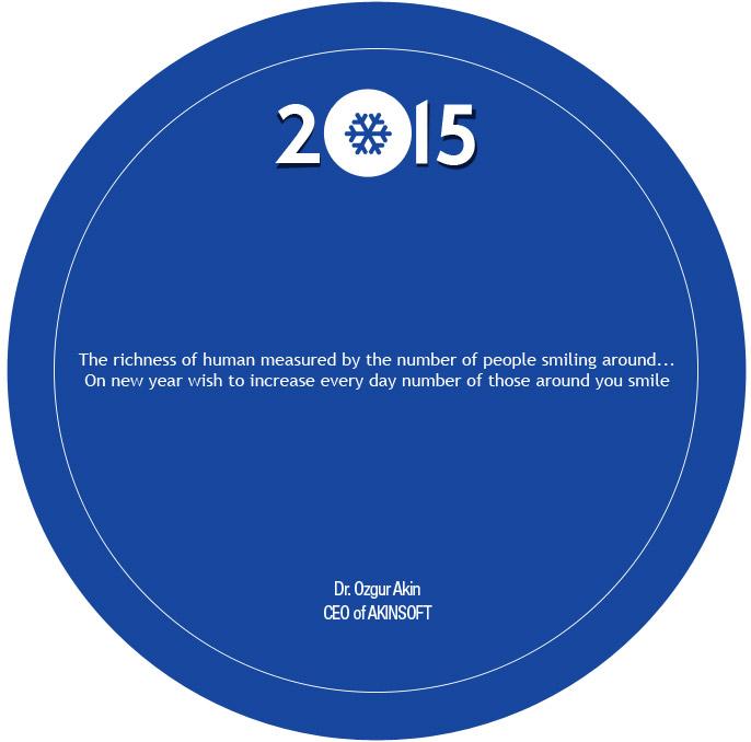 AKINSOFT Board Chairman DrOzgur Akins New Year Message