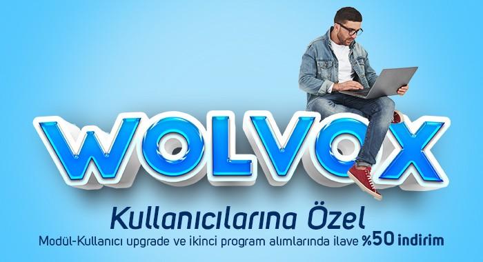 WOLVOX Kullanıcılarına Özel