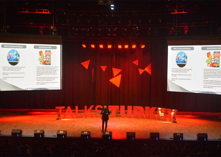 Ozgur Akin PhD the Chairman of AKINSOFTAKINROBOTICS in Talks Turkey Future Event - 13