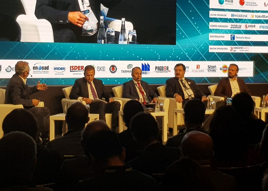 Özgür AKIN PhD was at Vizyon 2030  Machinery Summit held in Istanbul - 4