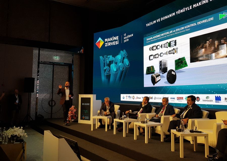 Özgür AKIN PhD was at Vizyon 2030  Machinery Summit held in Istanbul - 6