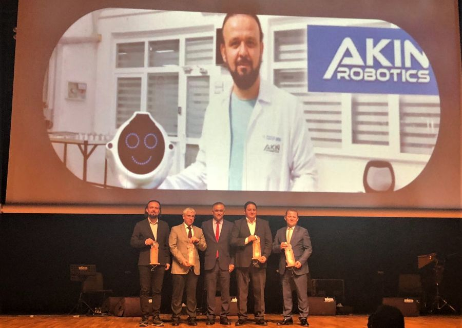 AKINROBOTICS has been awarded in technology category - 2