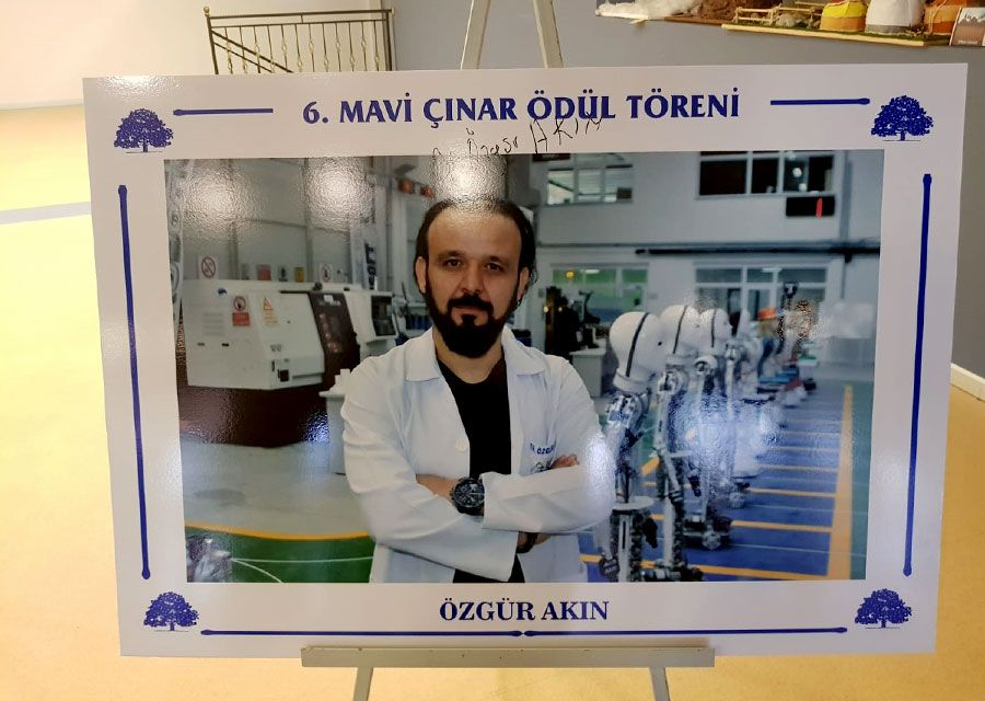 The Best Scientific Study of the Year award goes to Dr Özgür AKIN - 6