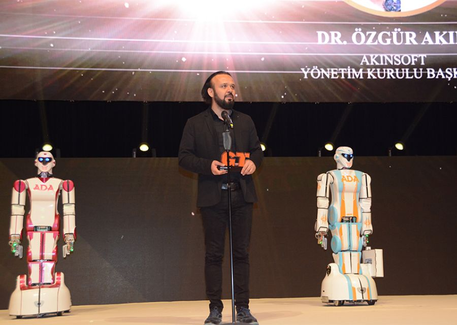 Dr Ozgur AKIN honored with Businessman Award of 2018 Young Turkey Vecihi Hurkus - 3