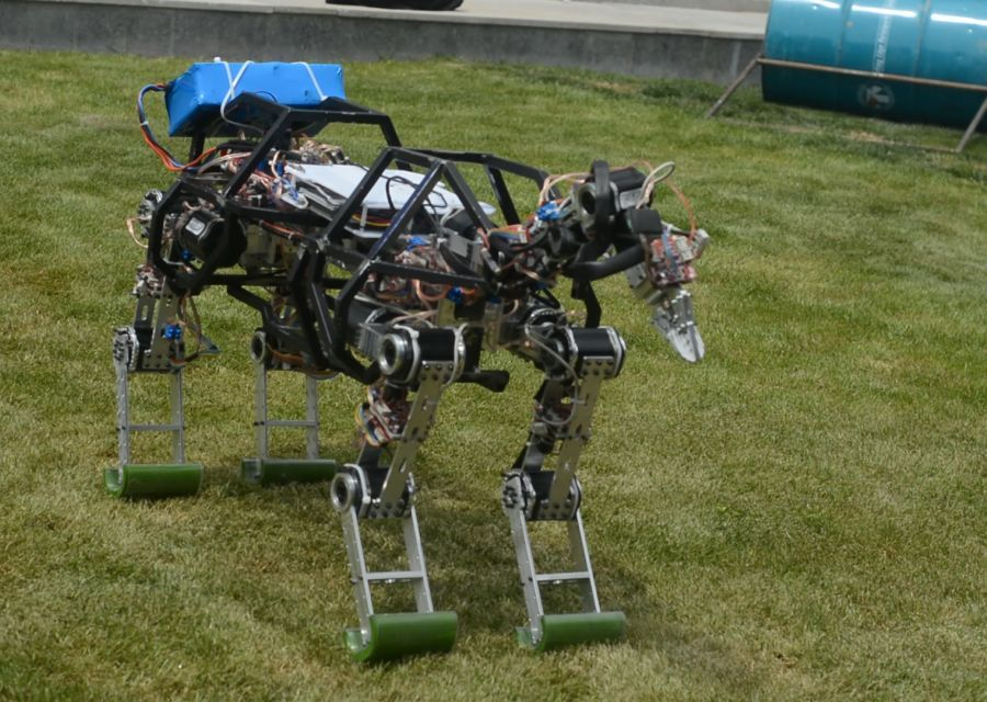 4LEGGED ROBOT ARAT IS IN THE FIELD - 7